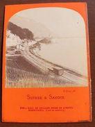 Foto Epoca Albumina E Lamy Ferrovia Lac Geneve 1865 - Foto