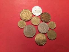 Lot De 10 Pièces Françaises Voir Le Scan - Coins & Banknotes