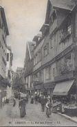 14)  LISIEUX  - La Rue Aux Fèvres - Lisieux