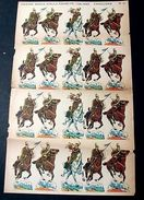 Marca Stella Foglio N° 11 Esercito Italiano Caval. 1930 - Giocattoli Antichi