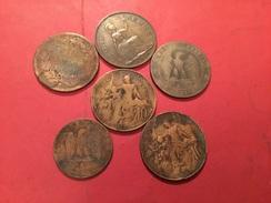 Lot De 6 Pièces  Voir Le Scan - Coins & Banknotes