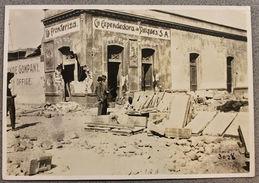 Foto Epoca - Mexico Rivoluzione Messicana 1910  Edifici Devastati N.37 - Fotos