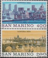 San Marino 1210-1211 Paar (kompl.Ausg.) Postfrisch 1980 Weltstädte: London - Neufs