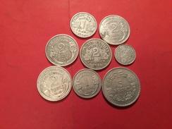 Lot De 8 Pièces  Françaises Voir Le Scans - Coins & Banknotes