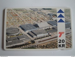 1 Magnetic Phonecard From Denmark - Telekort - Factory - Denmark