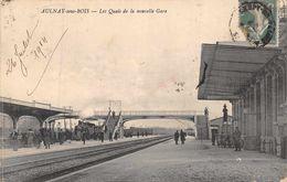 AULNAY SOUS BOIS  -Les Quais De La Nouvelle Gare , Animée - Aulnay Sous Bois