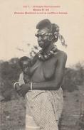 HAUTE GUINEE     Femme Malinké  Avec La Coiffure Foulah - Guinée