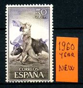 SPAGNA - Year 1960 - Nuovo - New - Fraiche - Frisch - MNH *.* - 1931-Oggi: 2. Rep. - ... Juan Carlos I