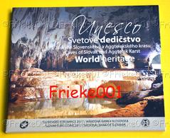 Slovakije - Slovaquie - Officiële Set 2017 BU.(Unesco) - Slovaquie