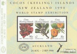 Kokos-Inseln Block10 (kompl.Ausg.) Postfrisch 1990 NEW ZEALAND - Kokosinseln (Keeling Islands)