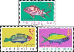 Kokos-Inseln 367-369 (kompl.Ausg.) Postfrisch 1998 Fische - Kokosinseln (Keeling Islands)