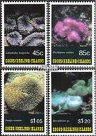 Kokos-Inseln 286-289 (kompl.Ausg.) Postfrisch 1993 Korallen - Kokosinseln (Keeling Islands)