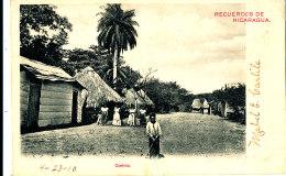 AJ 188 -  C P A -     NICARAGUA - RECUERDOS DE NICARAGUA  CORINTO - Nicaragua
