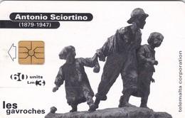 Malta, MT-MLT-0051A, Antonio Sciortino Les Gavroches, 2 Scans.   Small CN - Malta