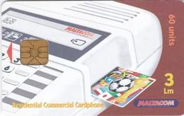 Malta, MT-MLT-0094, Residential Commercial Cardphone, Football, 2 Scans. - Malta