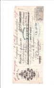 T.F Effets De Commerce N°271 Sur Doc Marseille 1880 - Fiscale Zegels