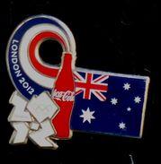 Londres 2012 Jeux Olympiques 1 Pins COCA COLA DRAPEAUX PAYS A VOIR - Olympic Games
