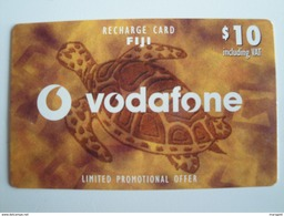 1 Remote Phonecard From Fiji Islands - Turtle - Fiji