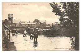 FOUCARMONT - 7 - L'Abreuvoir - (Librairie Hucher, éditeur - Cliché G. Talbot) >>> Lavage Troupeau De Moutons - France
