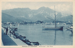 MARINA DI CARRARA - PANORAMA - DAL MOLO - Carrara