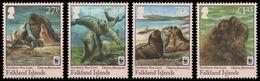Falkland 2011 - Faune En Danger, Wwf, Lion De Mer - 4 Val Neufs // Mnh - W.W.F.
