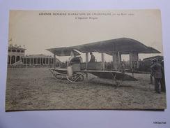 Grande Semaine D'aviation De Champagne-L'appareil Breguet - Meetings