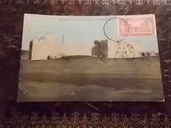 RARE MAROC MOGADOR 1919 ESSAOUIRA SUR LA PLAGE LA MOSQUEE DE SIDI MOUQ DOUL TIMBREE - Maroc