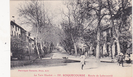 CPA (81) ROQUCOURBE Route De Labessonié N° 191 - Roquecourbe