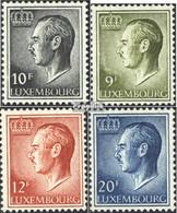 Luxemburg 899ya,919ya-921ya (kompl.Ausg.) Phosphoreszierendes Papier Postfrisch 1975 Jean - Nuovi