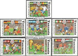 Tansania 1759-1765 (kompl.Ausg.) Postfrisch 1994 Fußball-WM In Den USA - Tansania (1964-...)