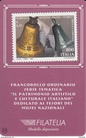 1999 IL PATRIMONIO ARTISTICO E CULTURALE ITALIANO - MUSEO STORICO DELLA CAMPANA DI AGNONE - 6. 1946-.. Repubblica