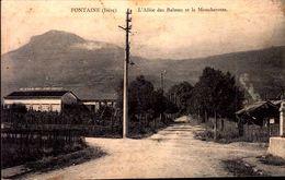 Isère - Fontaine - L'Allée Des Balmes Et Le Moucherotte - France