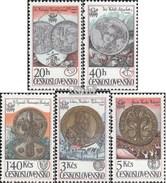 Tschechoslowakei 2427-2431 (kompl.Ausg.) Postfrisch 1978 Briefmarkenausstellung - Nuevos