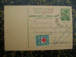 Red Cros-1din.+50p. Porto-1940   (3834) - 1931-1941 Regno Di Jugoslavia