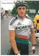 CYCLISTE -  PEDRO DELGADO - Cyclisme