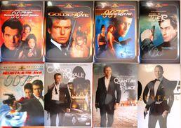 DVD James Bond 007 Lot De 8 Films Le Monde Ne Suffit Pas Meurs Un Autre Jour Casino Royale Quantum Of Solace Skyfall - DVDs