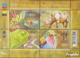 Südafrika 1911-1914 Kleinbogen (kompl.Ausg.) Postfrisch 2010 Jahr Der Biodiversität - Neufs
