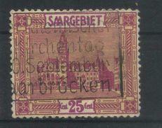 SARRE    N° Y&T  90  (o) - 1920-35 Saargebiet – Abstimmungsgebiet