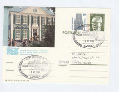 1995 Remscheid GERMANY RONTGEN MUSEUM EVENT COVER Health Radiation Medicine Stamps Postal Stationery Card - Medicine