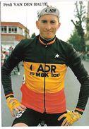 CYCLISTE - FERDI VAN DEN HAUTE - Cyclisme