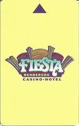 Fiesta Casino - Henderson, NV - Hotel Room Key Card - Hotel Keycards