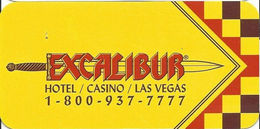 Excalibur Casino - Las Vegas, NV - Hotel Room Key Card - Hotel Keycards
