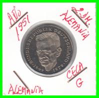 ALEMANIA - GERMANY  MONEDA DE 2.00 DM - AÑO 1991 -G  KURT SCHUMACHER - S/C - [ 7] 1949-… : RFA - Rep. Fed. Alemana