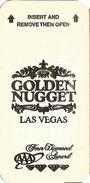Golden Nugget Casino - Las Vegas, NV - Hotel Room Key Card - Hotel Keycards