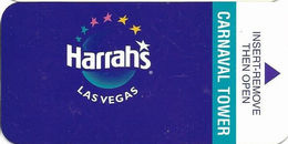 Harrah's Casino - Las Vegas, NV - Hotel Room Key Card - Hotel Keycards