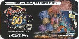 Riviera Casino - Las Vegas, NV - Hotel Room Key Card - Hotel Keycards