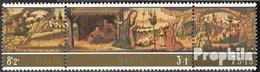 Malta Mi.-Nr.: 518-520 Dreierstreifen (kompl.Ausg.) Postfrisch 1975 Weihnachten - Malta