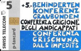 Swiss Telecom: 05/97 Behindertenkonferenz Graubünden - Schweiz