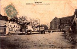 Morbihan - Ploërmel - Place Lamenais Vue Du Bas - Ploërmel