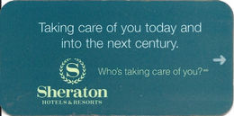 Sheraton Hotel Room Key Card - Hotel Keycards